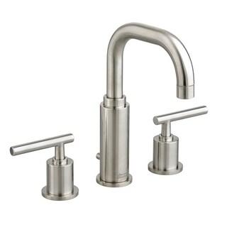American Standard Serin Widespread Bathroom Faucet 2064.831.295 Satin Nickel Bathroom Faucet