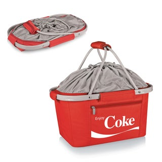 Picnic Time Coca-Cola Metro Basket Collapsible Tote (2 options available)