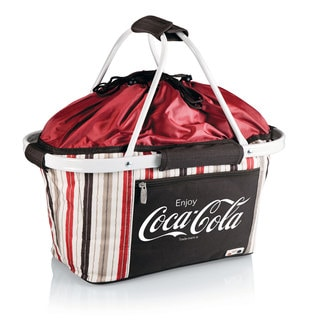 Picnic Time Coca-Cola Metro Basket Collapsible Tote