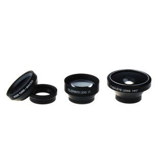 Magnetic 4-in-1 Lens Kit (Fish Eye Lens/ Wide Angle Lens/ Macro Micro Lens/ Telephoto Lens)|https://ak1.ostkcdn.com/images/products/10123850/P17261990.jpg?impolicy=medium