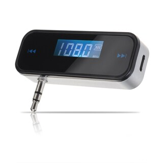 Wireless In-car Car FM Rechargeable 3.5mm Audio Transmitter