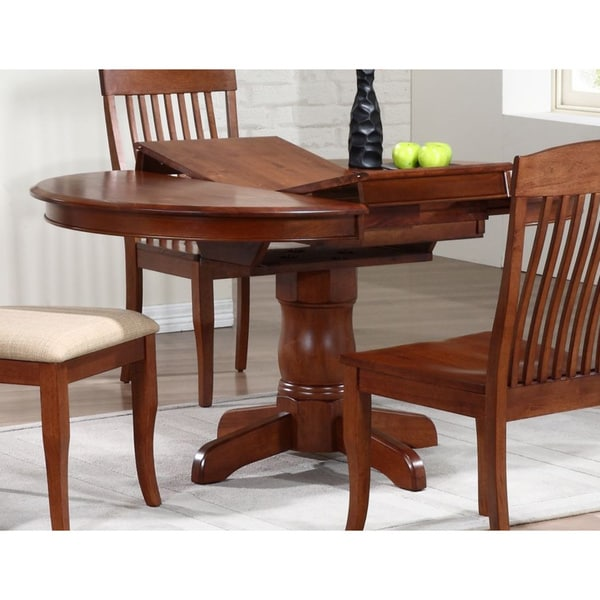 Superieur Iconic Furniture Cinnamon Company 42 Inch Round Dining Table   Chestnut
