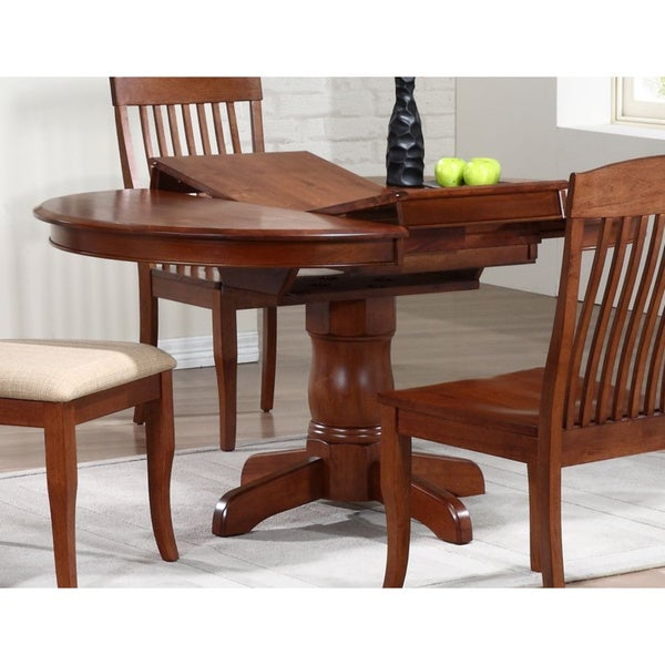 iconic furniture cinnamon company 42 inch round dining table iconic furniture cinnamon company 42 inch round dining table      rh   overstock com