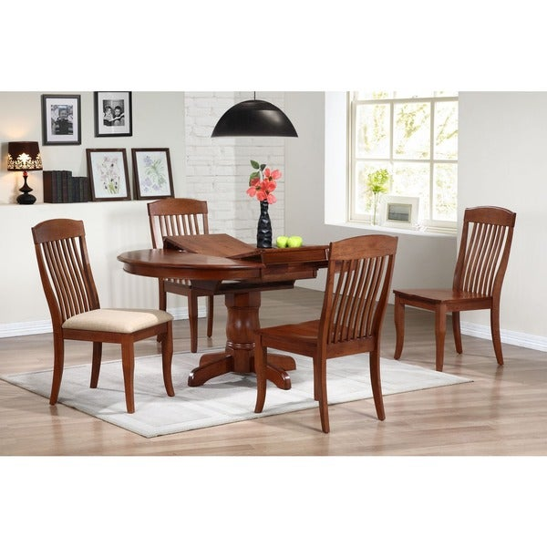 Iconic Furniture Cinnamon Company 42-inch Round Dining Table - Free  Shipping Today - Overstock.com - 17262010