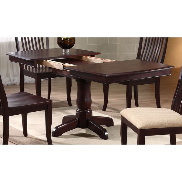 Iconic Furniture Mocha Boat Shape Dining Table   Espresso