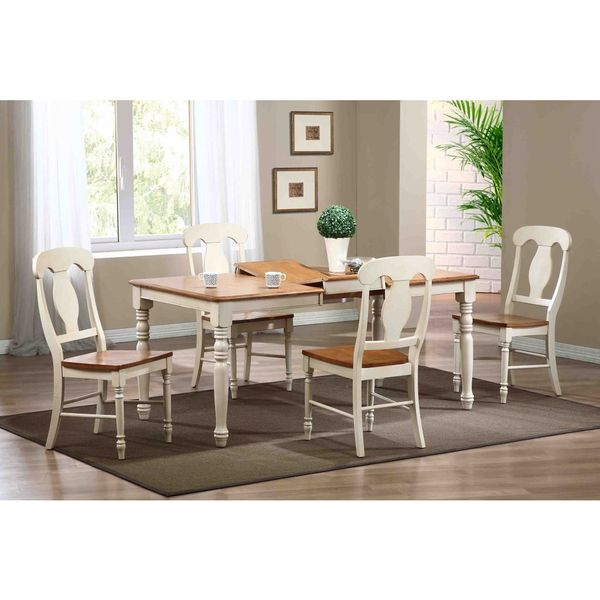 Iconic Furniture Antique Biscotti Caramel Rectangle Dining Table Multi Free Shipping Today 10123915