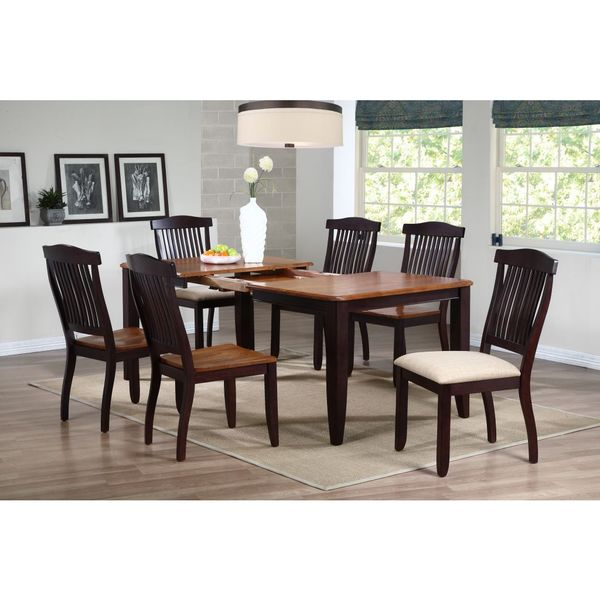 Iconic Furniture 40 X 60 78 Whiskey Mocha Rectangle Dining Table