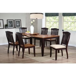 Iconic Furniture 40 x 60 x 78 Whiskey/ Mocha Rectangle Dining Table