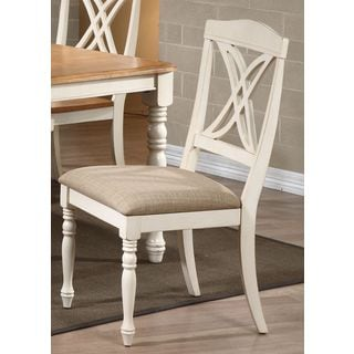 Iconic Furniture U97/ Biscotti Butterfly Back Dining Side Chair