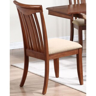 Iconic Furniture Cinnamon Modern Slat Back Dining Chair (Set of 2)