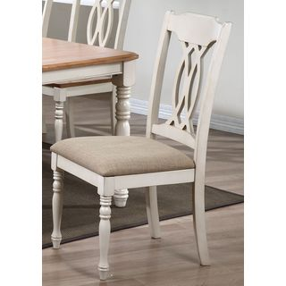 Iconic Furniture U97/ Biscotti Traditional Dining Side Chair (Set of 2)