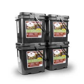 Wise Company 240 Servings of Meat with 80 Bonus Servings of Rice