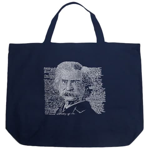 Mark Twain Shopping Tote Bag