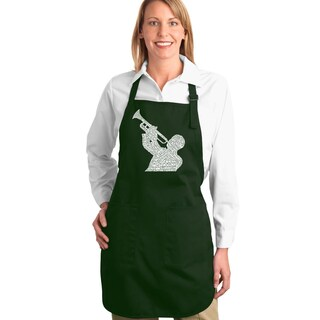Jazz Greatest Hits Kitchen Apron (4 options available)