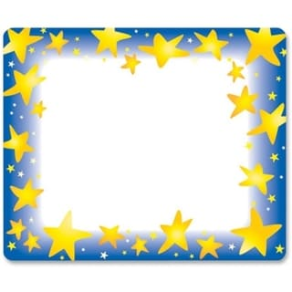 Trend Star Bright Name Tag (Pack of 36)