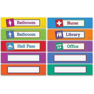 Learning Resources Magnetic Hall Passes Set of 10 (Pack of 10)