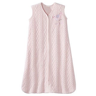 HALO SleepSack Cable Knit Sweater Wearable Blanket