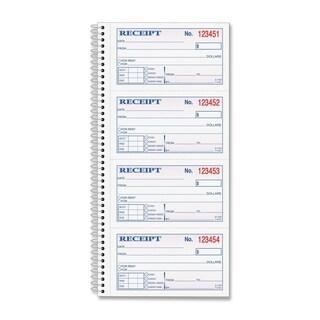 TOPS Money/ Rent Receipt Book