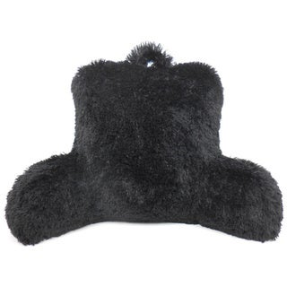 Warmly Shaggy Fur Bedrest Lounger