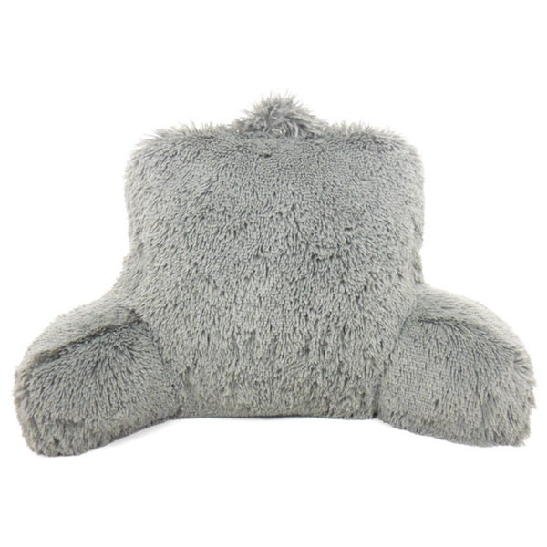 warmly shaggy fur bedrest lounger free shipping on orders over 45