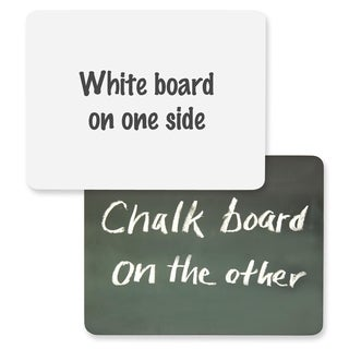 ChenilleKraft 2-in-1 Board Chalk/ Whiteboard Combo