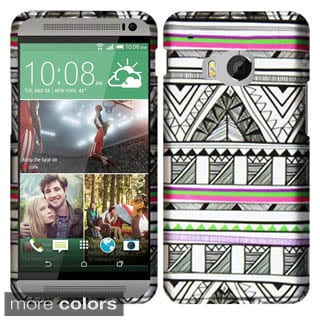 Insten Hard Snap-on Rubberized Matte Phone Case for HTC One M9