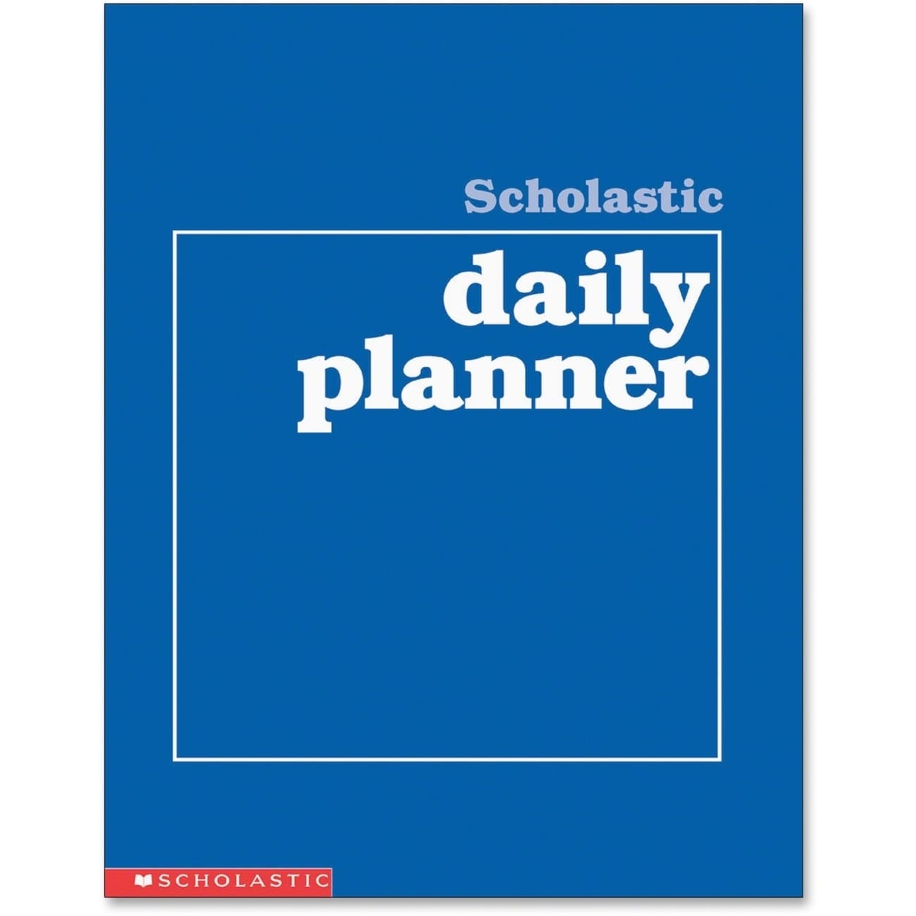 Scholastic SHS0590490672 Daily Planner, Grades K-6, Letter Size, 88 Pages