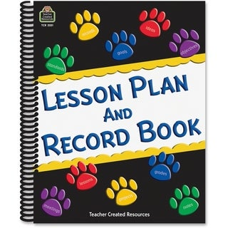 Teacher Created Resources Paw Prints Lesson/ Record Book