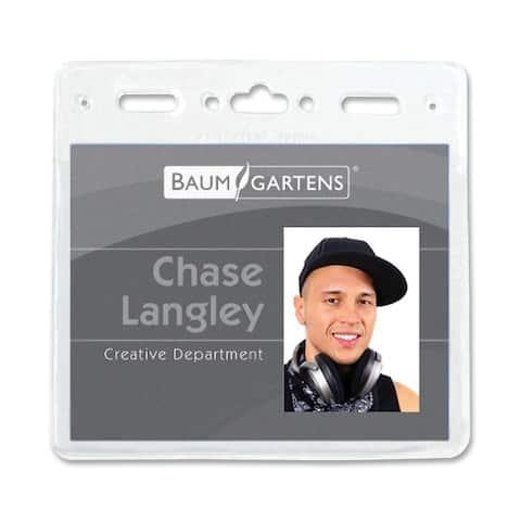 Baumgartens ID Badge Holder (Pack of 50)