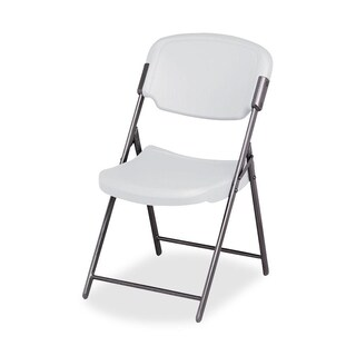 Iceberg Rough 'N Ready Folding Chair, Platinum