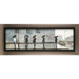 Hobbitholeco. Anastasia C. 'Wait for A Cab' 15 x 35-inch Canvas Wall Decor