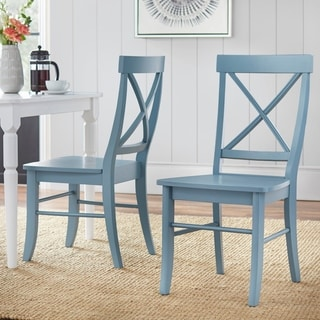 White, Wood Dining Room Chairs - Shop The Best Deals For Jun 2017