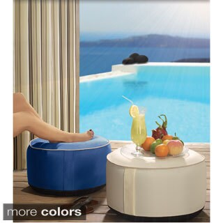 Splash and Dash Outdoor Inflatable Poufs
