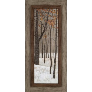 Tree in Fall 17x37 Framed Wall Art