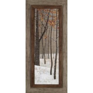Tree in Fall 17x37 Framed Wall Art