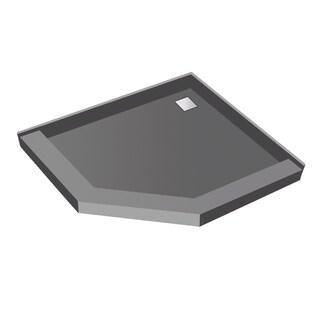Redi Neo 38 x 38 Wonder Drain Pan Back Drain Tileable Top