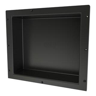 Redi Niche Individually Boxed 16 inch L x 14 inch W Standard Single Niche. Material ABS Black