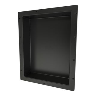 Redi Niche Individually Boxed 16 inch L x 20 inch W Standard Single Niche. Material ABS Black