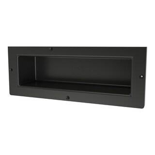 Redi Niche Individually Boxed 16 inch L x 6 inch W Standard Single Niche. Material ABS Black