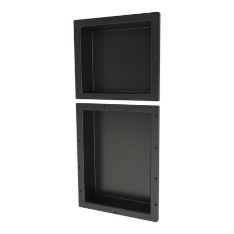 Redi Niche Double Niche Set containing 1 RN1614S and 1 RN1620S Single Niches