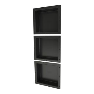 Redi Niche Triple Niche Set with 3 RN1614S Single Niches