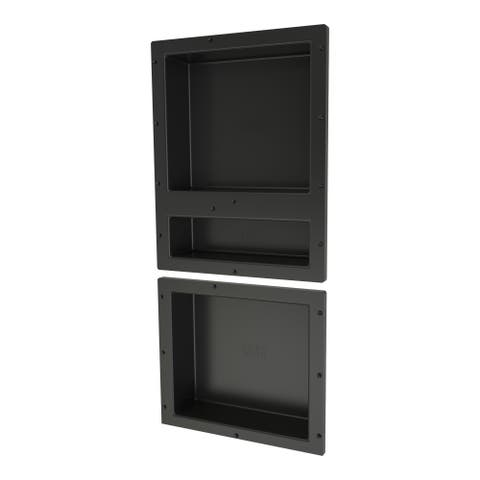 Redi Niche Triple Niche Set with 1 RN1620D Double Niche and 1 RN1614S Single Niche