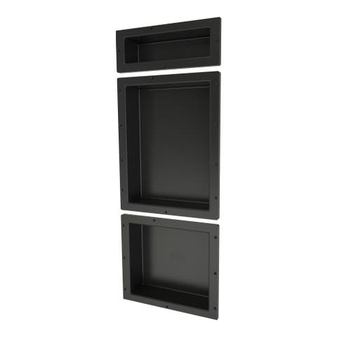 Redi Niche Triple Niche Set containing 1 RN166S Single Niche 1 RN1620S Single Niche and 1 RN1614S Single Niche
