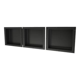 Redi Niche Triple Niche Set containing 3 RN1614S Single Niches