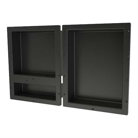 Redi Niche Triple Niche Set and 1 RN1620D Double Niche and 1 RN1620S Single Niche