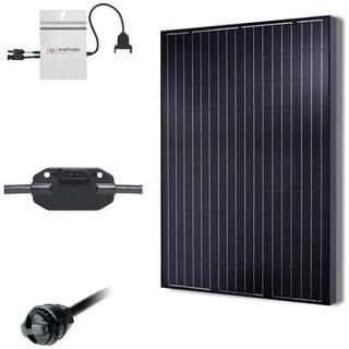 Renogy 2.5KW Grid-Tied Basic Solar Kit - Black