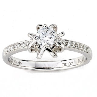 Diamonds for a Cure 18k White Gold 2/5ct TDW Diamond Ring