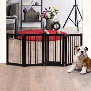 American Trails Free Standing Pet Gate with Door