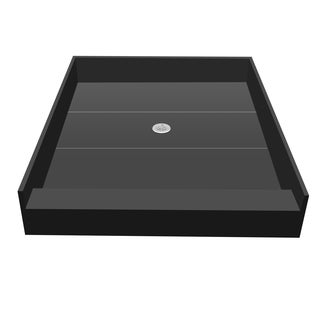 Redi Base 42 x 36 Single Curb Shower Pan With Center Drain