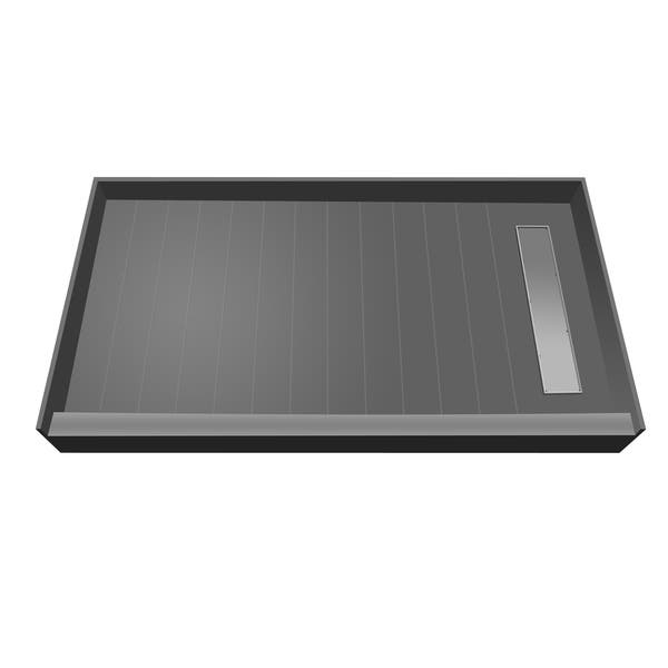 Shop Redi Trench 36 x 42 Shower Pan Right Tileable Trench